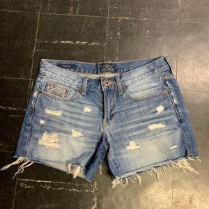 Lucky Brand Distressed Cut Off Shorts